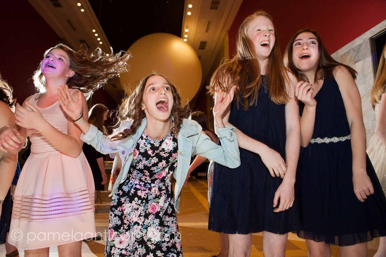 shayna's bat mitzvah at the children's museum in pittsburgh