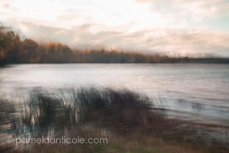 icm fine art print, intentional camera movement, multiple exposure, pittsburgh prints for sale, pamela marie photography, pamela anticole, moraine state park, nature