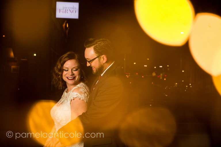 multiple exposure wedding photo, wedding photos at night, lawrenceville wedding photos, pittsburgh fine art photographer, piccolo forno event space