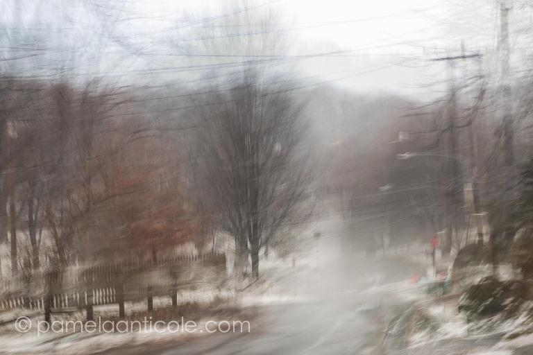 snowstorm abstract art, original pittsburgh artist, pittsburgh fine art photography, abstract nature art