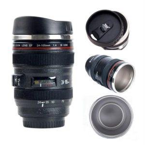 coffee mug that looks like a camera lens (canon 24-105)