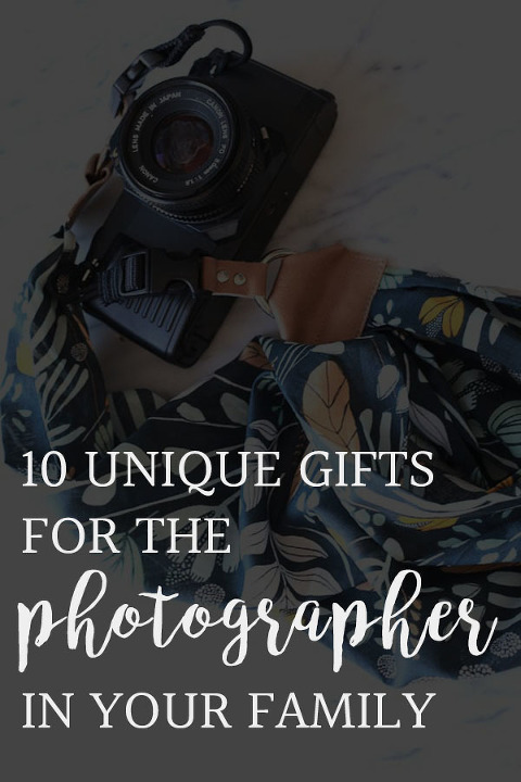 10 unique gifts for the photographer in your family