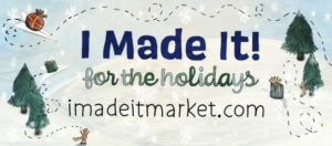 i made it! for the holidays logo