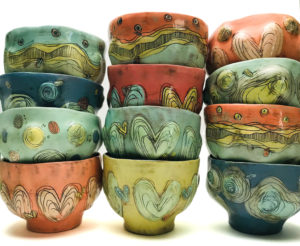 custom pottery by local Pittsburgh artists