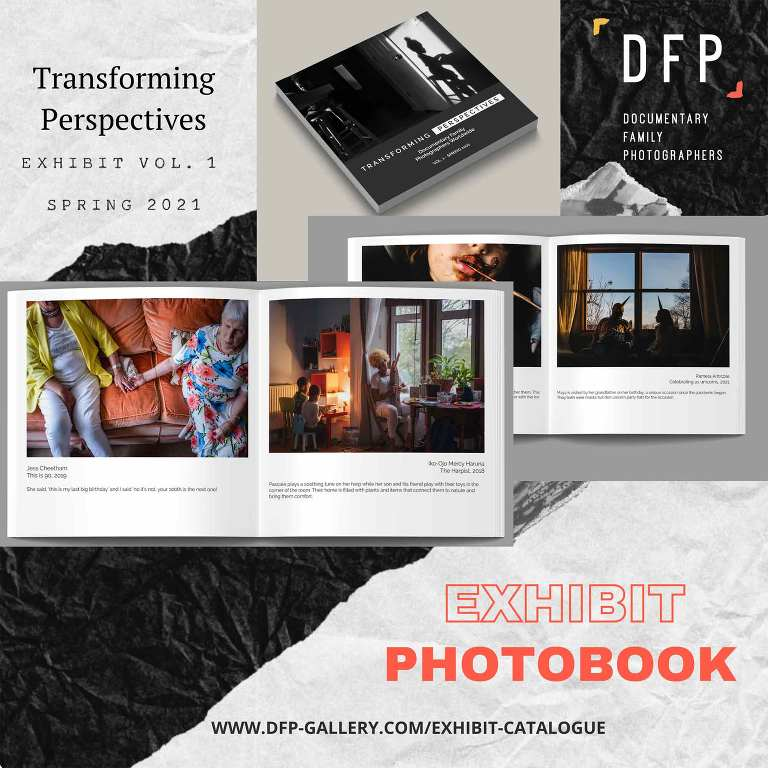 Transforming Perspectives online exhibit by the DFP is offering their exhibit catalogue for sale as a photobook