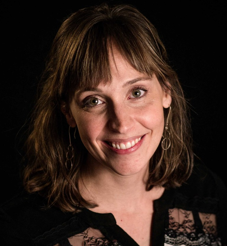 headshot of pittsburgh photographer pamela anticole with evermark studios